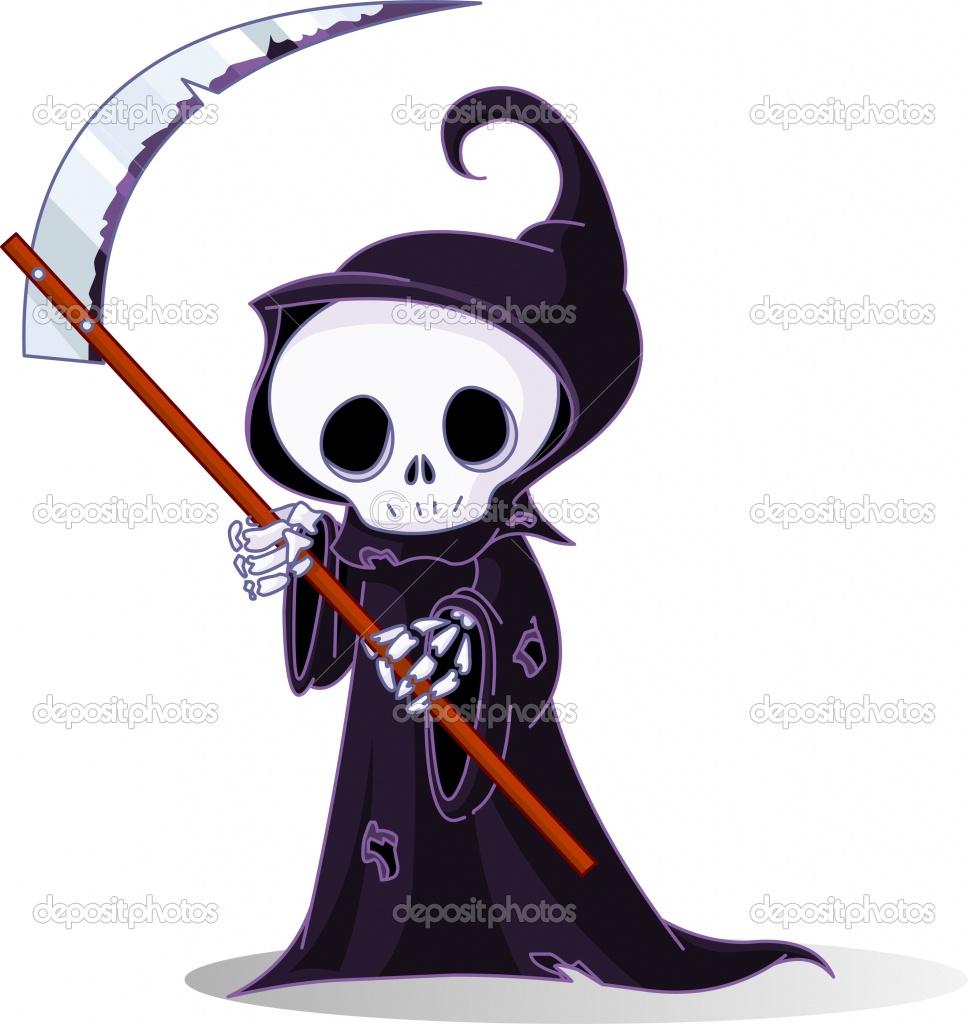Рисуем Смерть С Косой